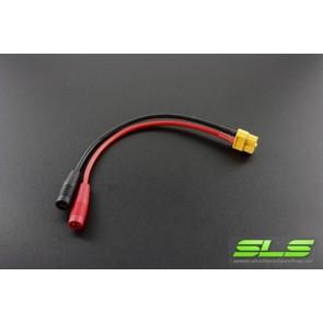 ISDT Adapterkabel für Ladekabel mit 4mm Bananenstecker