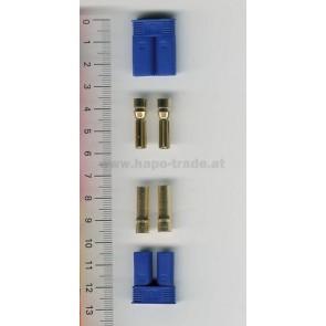 Goldkontaktstecker Set 5mm EC5 EMax