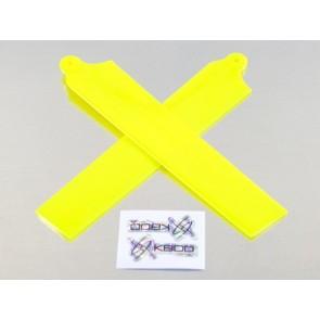 KBDD Hauptrotorblätter (für mCP X) Extreme Edition (neon gelb) KBDD5001#