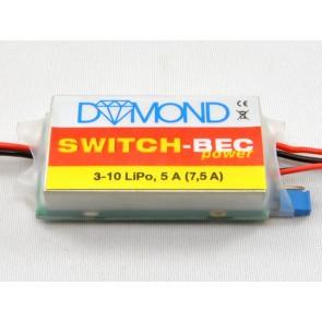 DYMOND Switch BEC Power 5A (3-10 LiPo)