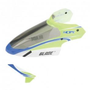 Kabinenhaube Grün mit Finne: mCP X BLH3519  Blade