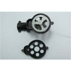 Heckrotorgehäuse mit Zahnrad MT400 (Monstertronic) MT400-033 Monstertronic
