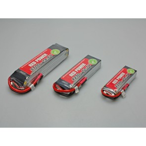 Akkupack Red Power - 4250mAh / 3S / 11,1V / 25C  Pichler
