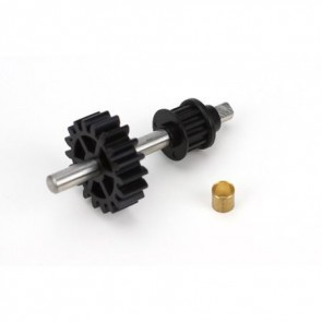 Blade 450 Tail Drive Gear/Pulley Assembly: B450 BLH1655 Blade