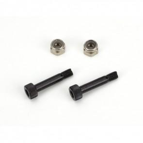 Blade 450 Rotorblattbefestigung Screw&Nut Set (2): B450 BLH1616 Blade