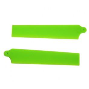 KBDD Hauptrotorblätter (für mCP X) Extreme Edition (neon grün) KBDD5002#