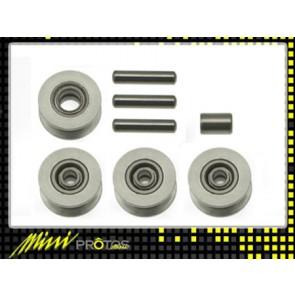 Protos 450 - Riemenandruckrollen Alu MSH41112# MSH
