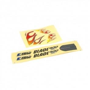 Blade 400 Dekorbogen Flammen - EFLH1484  Eflite
