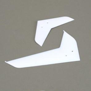 Blade 400 Leitwerke, weiß - EFLH1472W  Eflite
