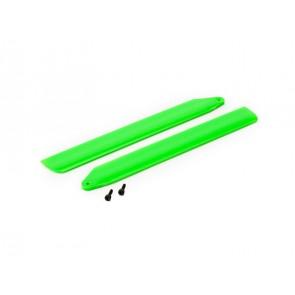 Blade 130X: Hi-Performance Hauptrotorblätter Set Grün BLH3716GR Blade