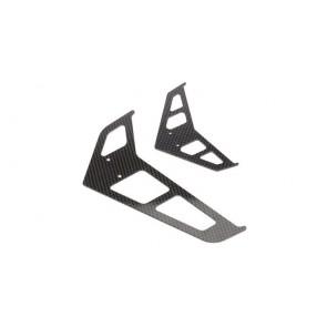 Blade 500 3D Carbon Finnenset BLH1872C Blade