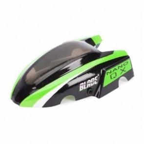 Blade Nano QX:  Kabinenhaube  Grün BLH7614 Blade