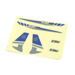 Blade mCX Dekorbogen silber - EFLH2230  Eflite
