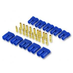 5x Goldkontaktstecker Set 2mm EC2 Yuki