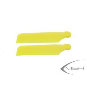 Tail blade Protos 380 Yellow