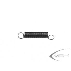 Spring belt tensioner