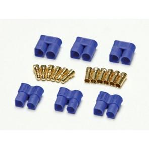 3x Goldkontaktstecker Set 3,5mm EC3 Pichler