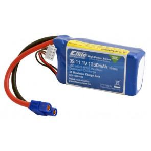 Akkupack E-flite 1350mAh 3S 11.1V 30C LiPo (E-flite) EFLB13503S30 Eflite