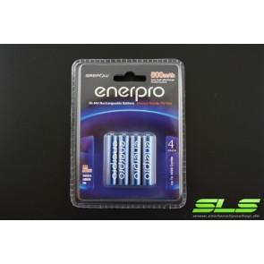 4er-Blister Enerpro AAA Micro 800mah SLS