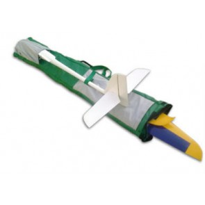 Staufenbiel DELUXE Modelltasche/Rucksack (grün) 143x35cm