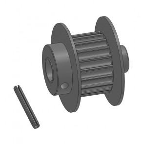 Heckriemenrad für 6 mm Heckrotorwelle, 1 Set im Beutel