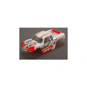 ECX Karosserie weiss /orange 1:10 AMP MT