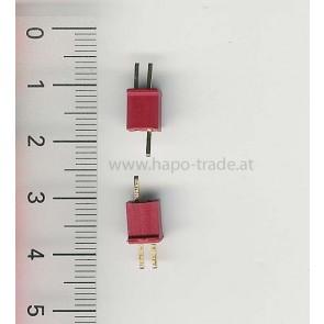 Ein Paar Mini T Stecker EMax