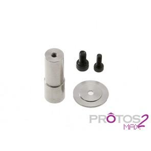 Protos Max V2 - Guide pulley support - Front side V2 MSH71133# MSH