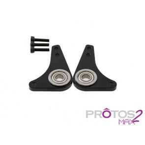 Protos Max V2 - Alu tail frames (2x) MSH71142# MSH