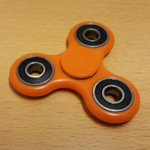 Fidget Spinner - Finger Kreisel - Farbe Orange