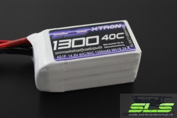 SLS XTRON 1300mAh 4S1P 14,8V 40C/80C SLS