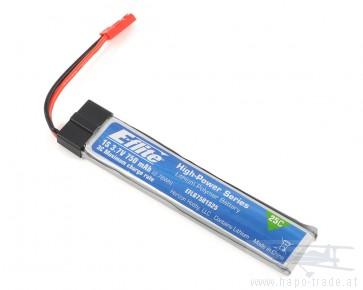 Lipo Akku 750mAh 1-Cell 3.7V 25C LiPo 3.7V E-flite