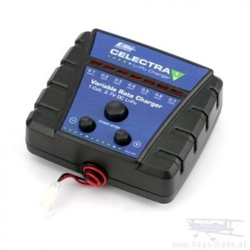 120 SR Celectra 1S 3.7 Variable Rate DC Li-Po Charger EFLC1006 Eflite