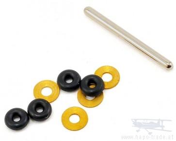 Blattlagerwelle (mit O-Ringen) mSR/mSR X - BLH3213 Blade