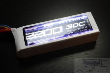 SLS XTRON 2200mAh 3S1P 11,1V 30C/60C (SLSXT22003130) SLS