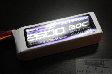 SLS XTRON 2600mAh 3S1P 11,1V 30C/60C (SLSXT26003130) SLS