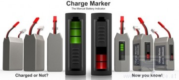 Charge-Marker  Voll/Leer Anzeiger