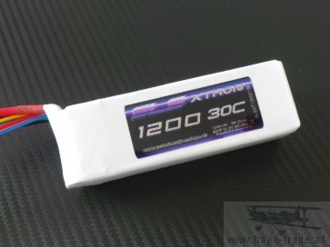 SLS XTRON 1200mAh 6S1P 22,2V 30C/60C (SLSXT12006130) SLS