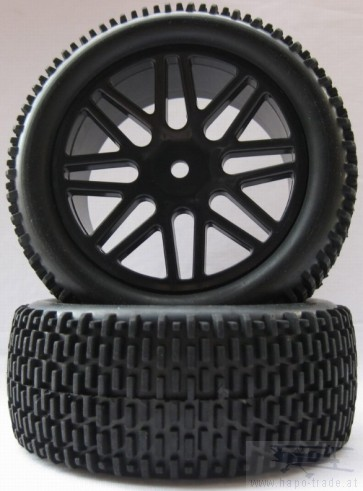 Offroad Räder Buggy 1:10 85mm x 34mm 2x Monstertronic