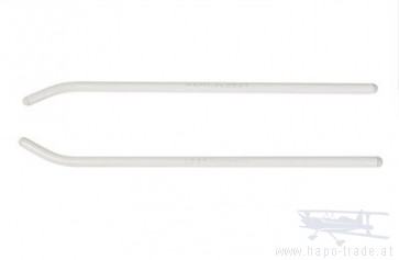 Kufenrohre LOGO 500, 270 x Ø8mm, weiß  04311 Mikado