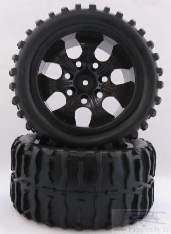 Offroad Räder 1:10 Truggy 115mmx55mm (2x) Monstertronic