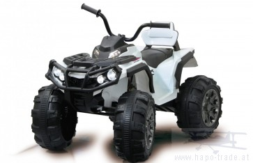 Ride On Car - Quad Protector weiß 12V - Elektroauto für Kinder