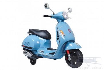 Ride On Vespa - Vespa blau 12V - Elektromotorrad für Kinder