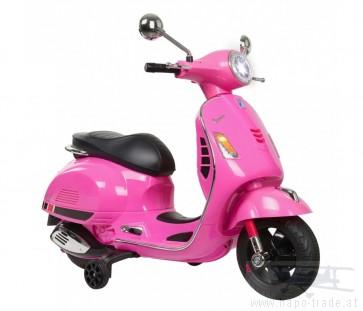 Ride On Vespa - Vespa pink 12V - Elektromotorrad für Kinder