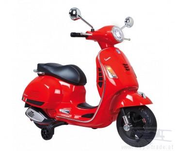 Ride On Vespa - Vespa rot 12V - Elektromotorrad für Kinder