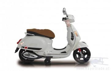 Ride On Vespa - Vespa weiß 12V - Elektromotorrad für Kinder