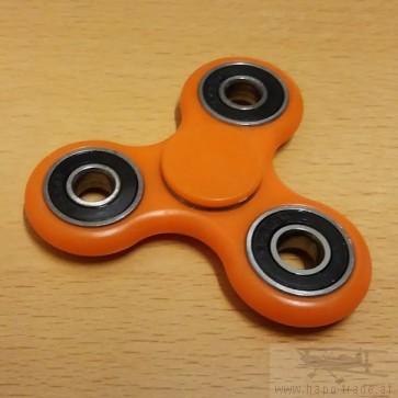 Fidget Spinner - Finger Kreisel - Farbe Orange
