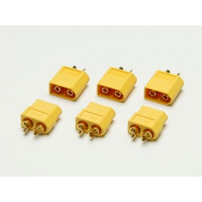 3x Goldkontaktstecker Set XT60