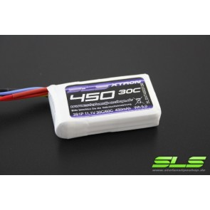 Lipo Akku SLS XTRON 450mAh 3S1P 11,1V 30C/60C (SLSXT04503130)