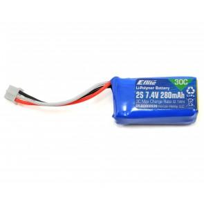 E-flite 280mAh 2-Cell 7.4V 30C LiPo EFLB2802S30 Eflite